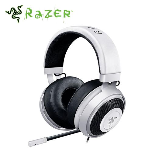 RAZER 雷蛇 Kraken Pro V2 Oval 北海巨妖 耳機麥克風 白