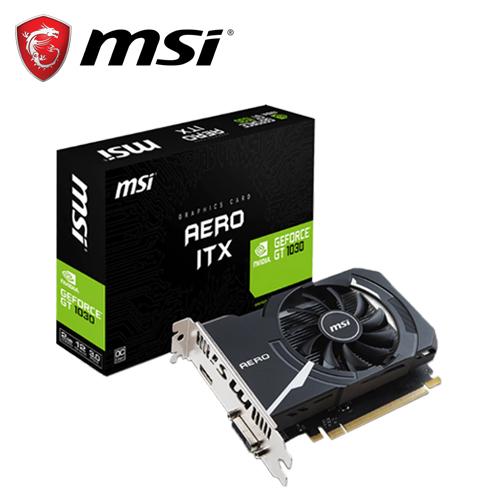 msi 微星GT 1030 AERO ITX 2G OC 顯示卡