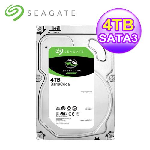 Seagate4TB/64M/3.5吋/SATA3/3年