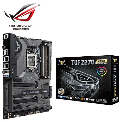 ASUS 華碩 TUF Z270 MARK 1 主機板