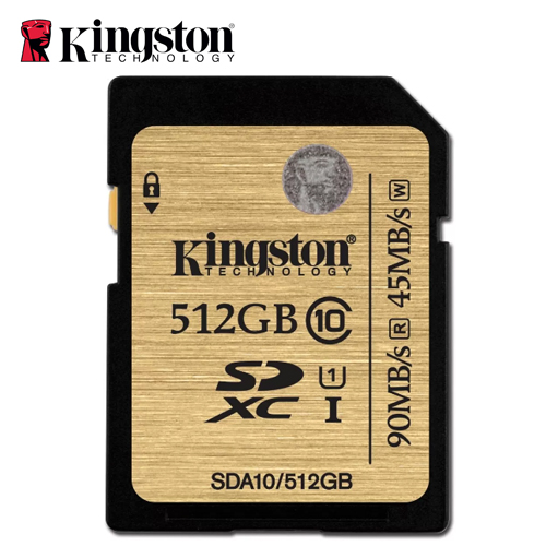 Kingston 金士頓 R95-SDHC-U1-C10 512G記憶卡