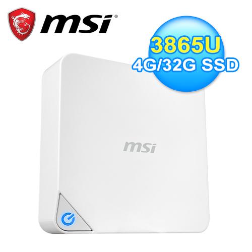 MSI 微星 Cubi2-022TW 迷你電腦 白