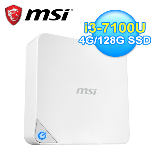 MSI 微星 Cubi 2-018XTW I3 迷你电脑 白
