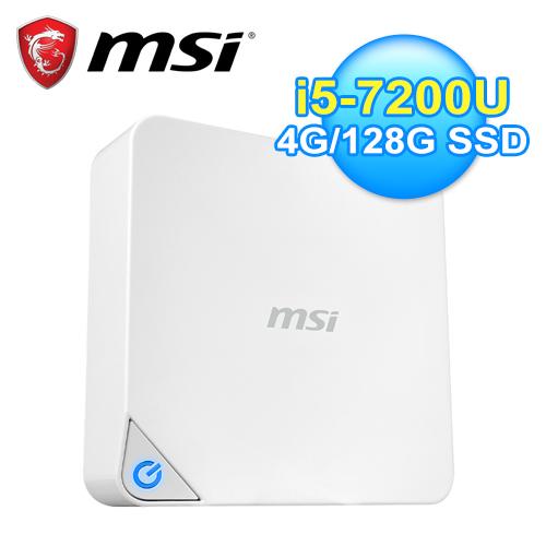 MSI 微星 Cubi 2-019XTW I5 迷你电脑 白