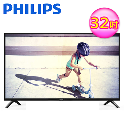 PHILIPS 飛利浦 32吋 液晶顯示器+視訊(32PHH4002)