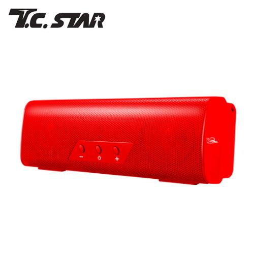 T.C.STAR TCS1010 行动MOVE无线蓝芽喇叭 红