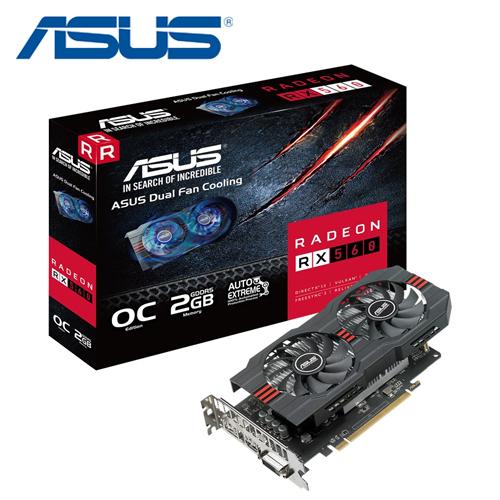 ASUS 华硕 RX560-O2G 显示卡