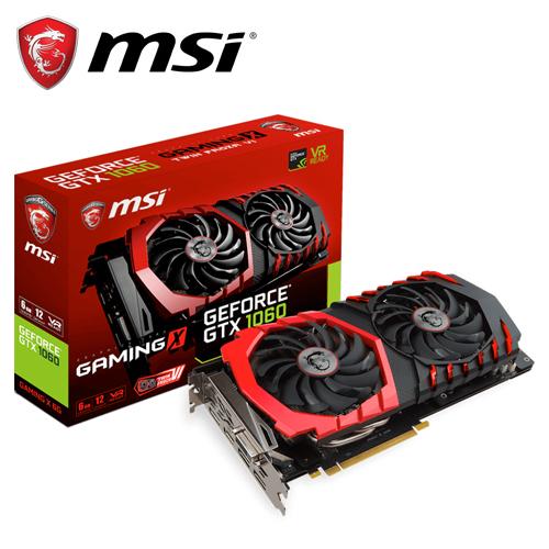 msi 微星 GTX 1060 GAMING VR X 6G 顯示卡