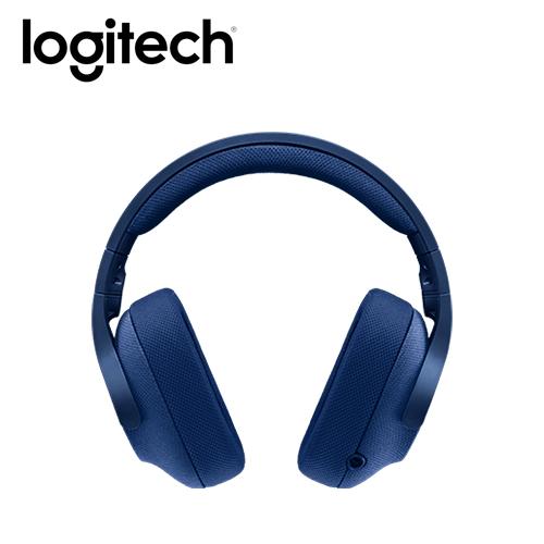 logitech 羅技G433 有線遊戲耳麥 真實藍