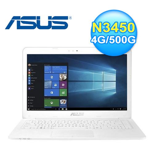 ASUS 華碩 E402NA-0072AN3450 14吋筆電 白