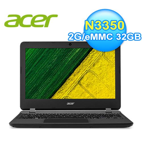acer 宏碁 ES1-132-C5BH 11.6吋文書筆電 黑