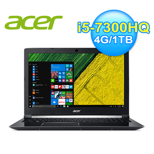 acer 宏碁 A715-71G-54UE 15.6吋 七代筆電
