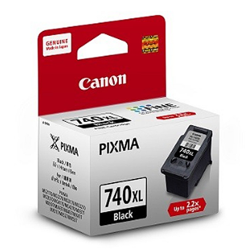 CANON PG-740XL 黑色墨水匣 (2入)