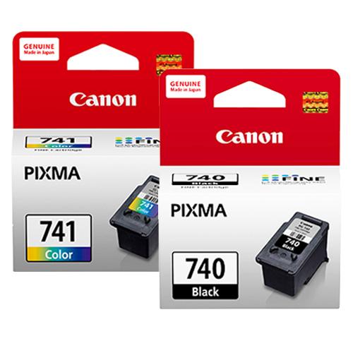 CANON PG-740+CL-741 墨水匣組 (1黑1彩)