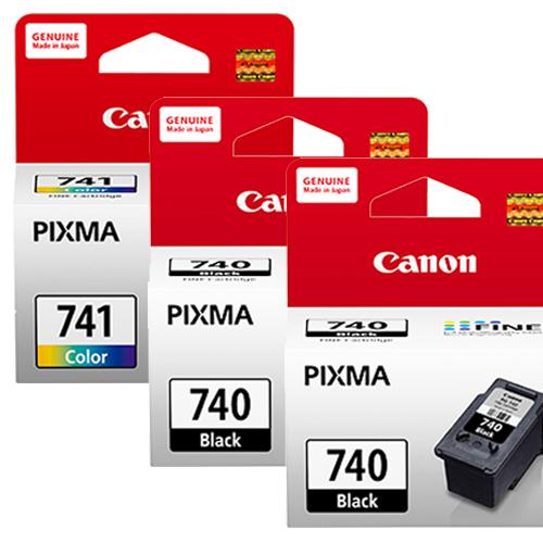 CANON PG-740+CL-741 墨水匣組 (2黑1彩)