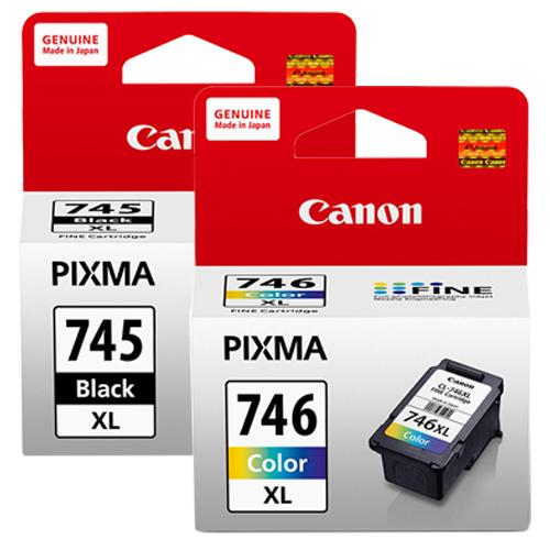CANON PG-745XL+CL-746XL 墨水匣組 (1黑1彩)