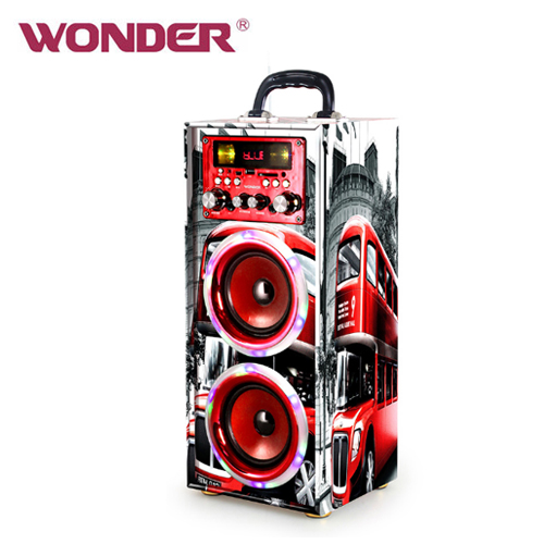 WONDER 旺德蓝牙 KTV音响 WS-T024U 红