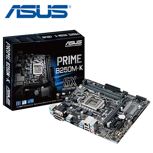 ASUS 華碩 PRIME B250M-K 主機板