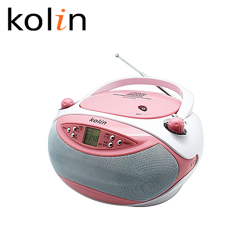 Kolin 歌林 KCD-WDC17 手提式CD音响 粉色