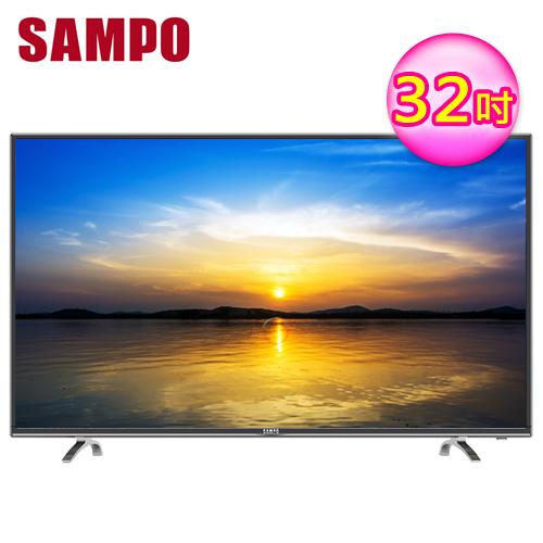 SAMPO 聲寶 32吋 LED液晶電視 EM-32AT17D -friDay購物