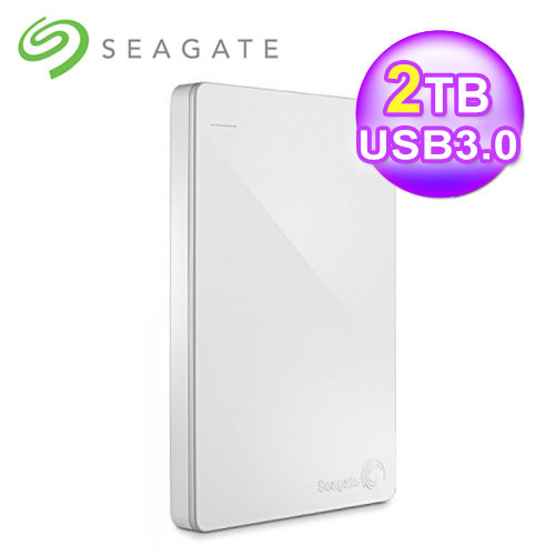 Seagate 希捷 Backup Plus Slim 2TB 外接式硬盘 白