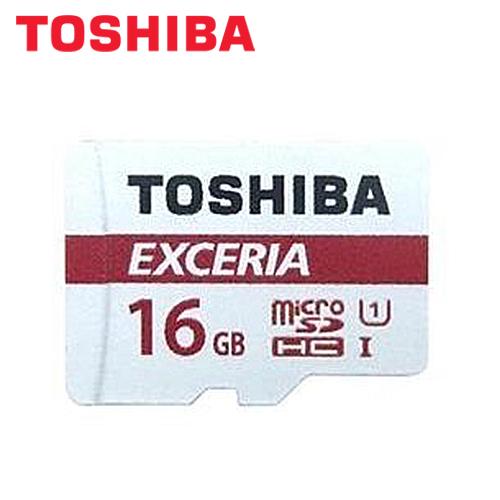 TOSHIBA M302 EXCERIA MicroSDHC UHS-1 16GB记忆卡(附转卡)
