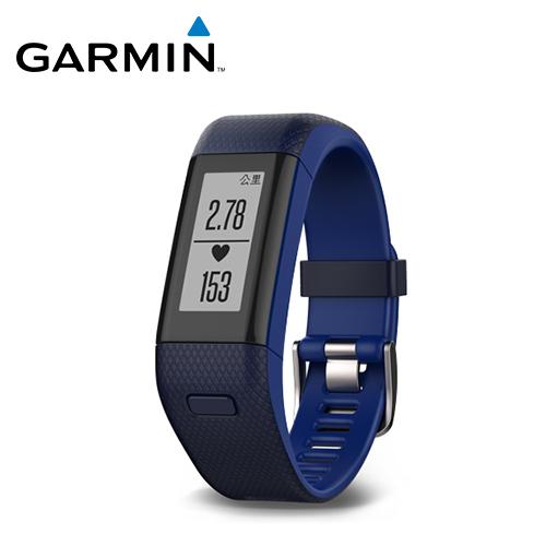 GARMIN VivoSmart HR+ 心率GPS智慧手环 蓝