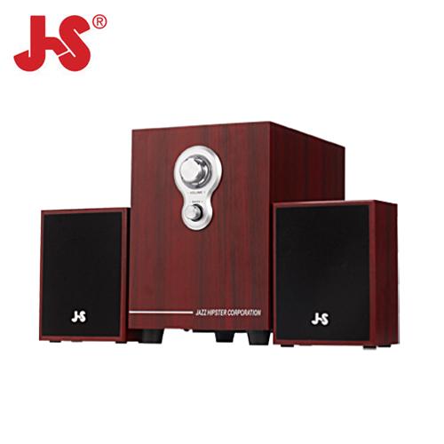JS 淇譽 JY3080 2.1 全木質多媒體喇叭