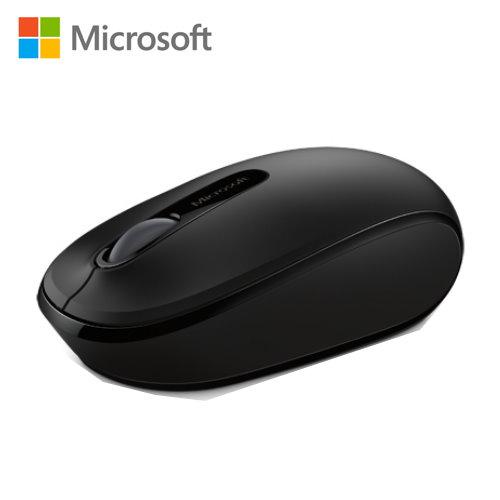 微軟 無線行動滑鼠1850 削光黑