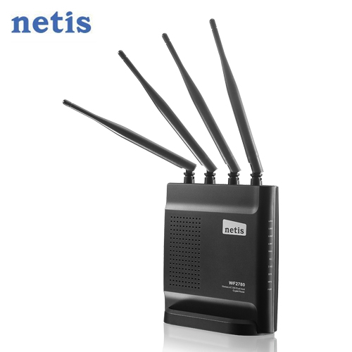 netis WF2780 AC1200 双频 Gigabit 无线分享器