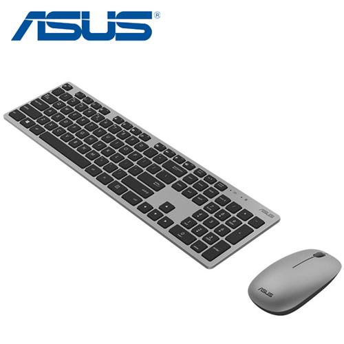 ASUS 華碩 W5000 無線鍵盤滑鼠組 灰色