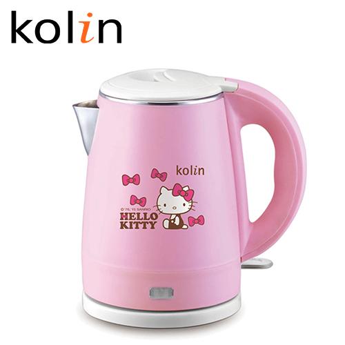 Kolin 歌林 Hello Kitty 不銹鋼快煮壺 1.0L KPK-MNR1032