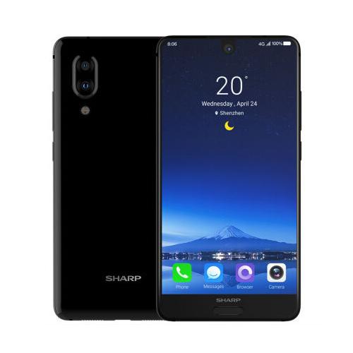 【福利品】SHARP AQUOS S2L 全螢幕手機 4G/64G 黑