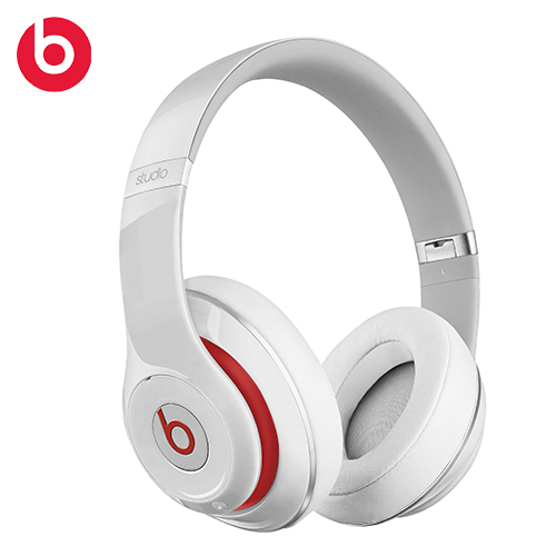 Beats Studio Wireless 無線藍牙耳罩頭戴式耳機 白色
