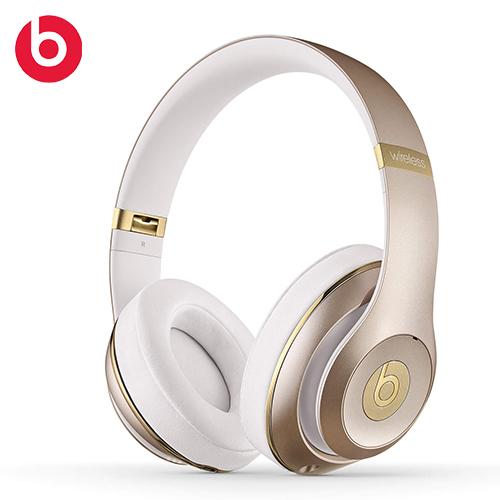 Beats Studio Wireless 无线蓝牙耳罩头戴式耳机 金色