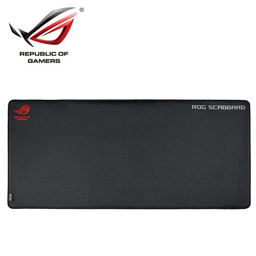 ASUS 華碩 ROG Scabbard 電競滑鼠墊(加大版)