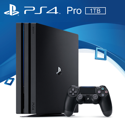 PS4 Pro主機「極致黑」7218型 1TB 台灣公司貨