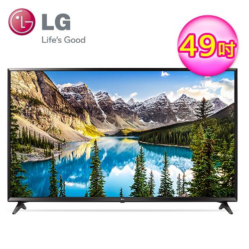 LG 乐金 49型 4K IPS UHD 联网液晶电视 49UJ630T 深楬黑
