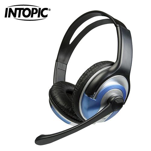 INTOPIC 廣鼎 頭戴式耳機麥克風 JAZZ-376