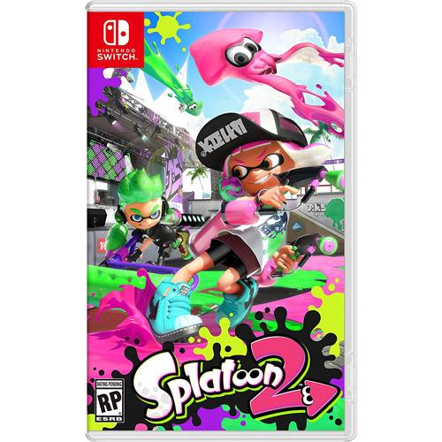 NS 任天堂 Nintendo Switch 漆彈大作戰 2