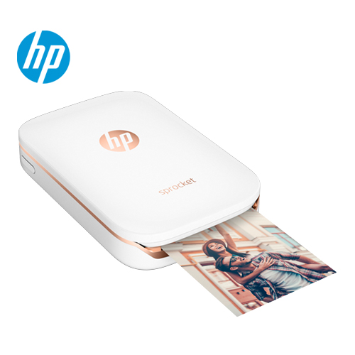HP惠普|Sprocket 迷你口袋相印机 冰晶白