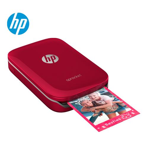 HP惠普|Sprocket 迷你口袋相印机 艳夏红