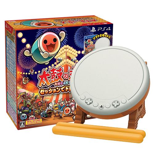 SONY PS4 太鼓之达人 咚咚喀咚大合奏 太鼓同捆版《中文版》