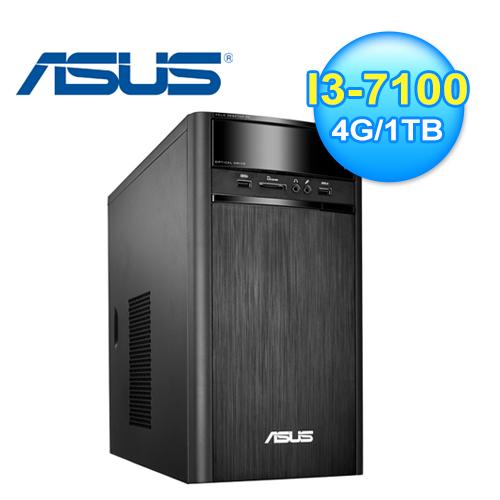 ASUS Vivo PC K31 7代雙核桌上型電腦 K31CD-K-0021A710UMT【加贈 華碩無線網路卡】