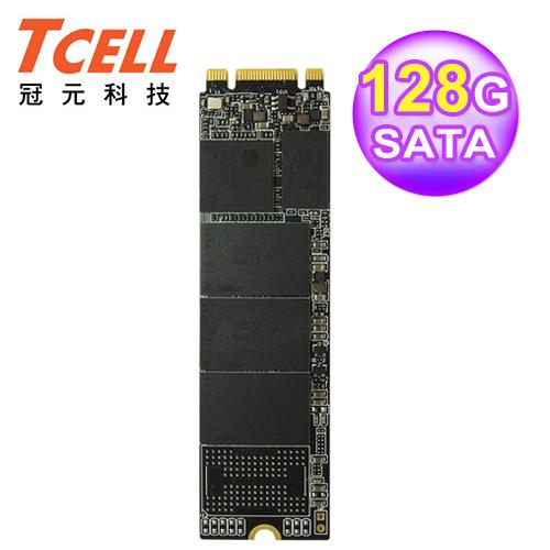 TCELL 冠元 TT650 M.2 128GB 2280 SATA 固态硬盘