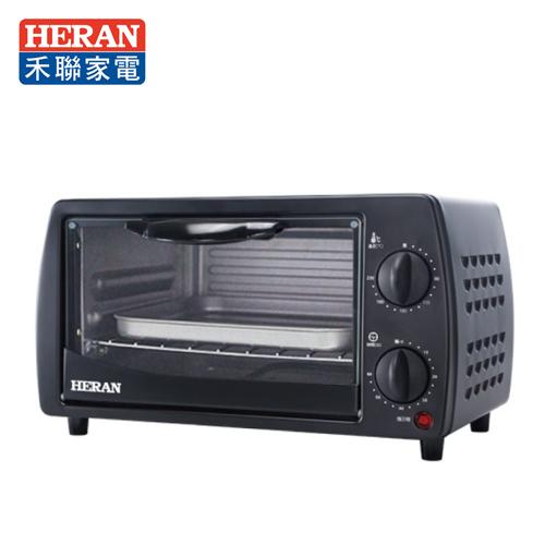 HERAN 禾聯 9L 二旋鈕電烤箱 機械式電烤箱 HEO-09K1