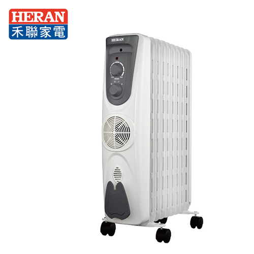 HERAN 禾联 360度 9叶片式 节能温控电暖炉 (HOH-15M097)