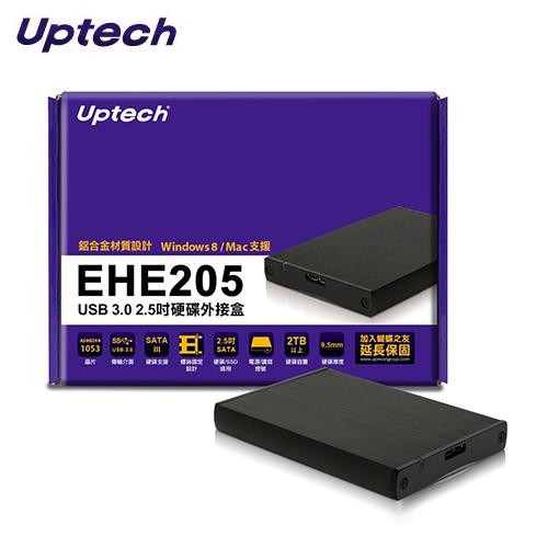 Uptech EHE205 USB 3.0 2.5吋 硬碟外接盒
