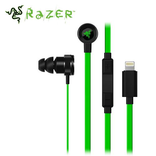 Razer 雷蛇 Hammerhead 戰錘狂鯊耳塞式耳機麥克風 iOS專用【即日起~6/30止↘↘限時85折】