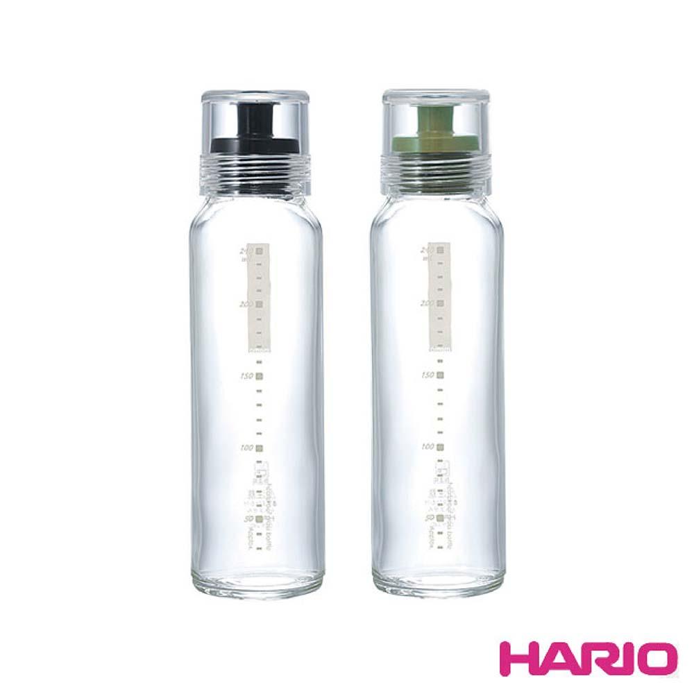 HARIO 玻璃調味瓶240ml(黑/墨綠 顏色隨機) HAR-DBS240